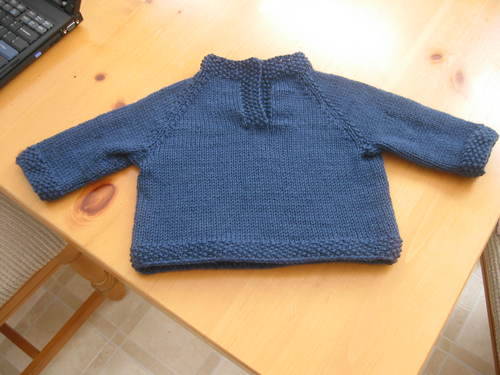 Child's Placket Sweater