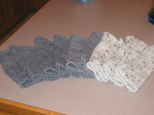 Fingerless Mitts for the teachers